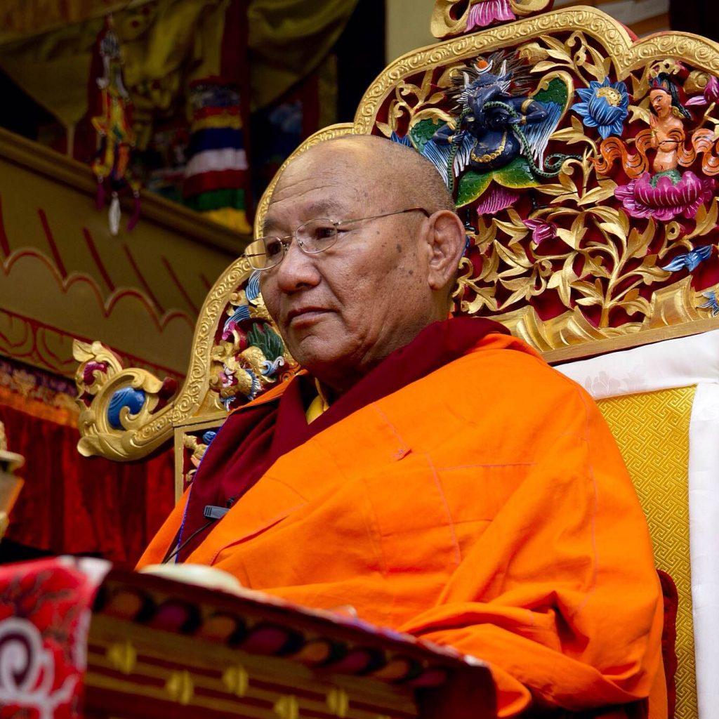 H.E. Khochhen Rinpoche